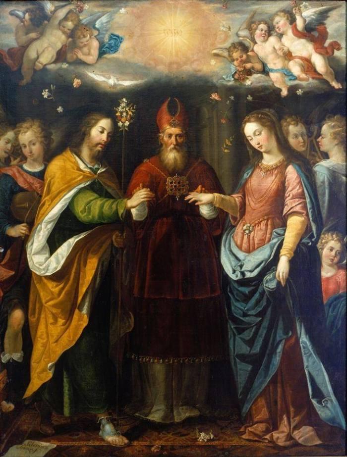 zaślubiny Józefa i Maryi